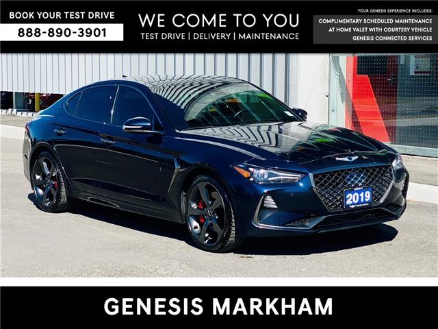 2019 Genesis G70 3.3T Sport (Stk: 9385H) in Markham - Image 1 of 21