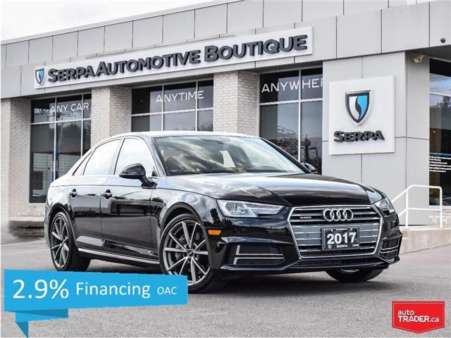 2017 Audi A4 2.0T Progressiv (Stk: P1311) in Aurora - Image 1 of 30