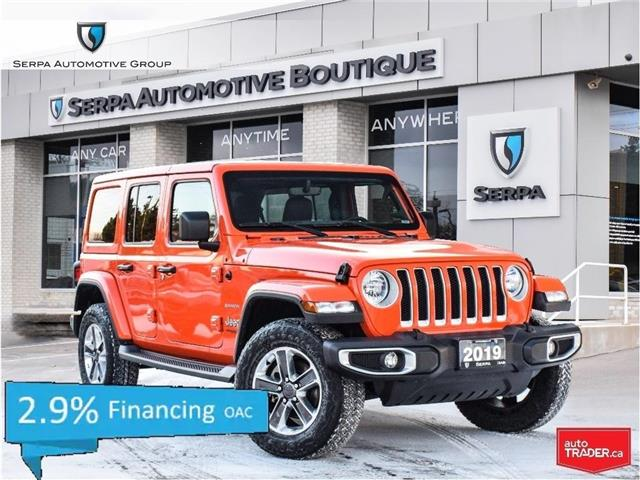 2019 Jeep Wrangler Unlimited Sahara (Stk: SC1001) in Aurora - Image 1 of 27