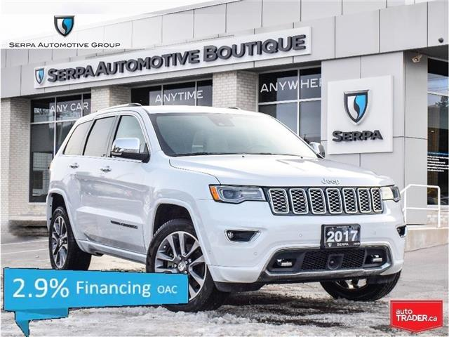 2017 Jeep Grand Cherokee Overland (Stk: P1374A) in Aurora - Image 1 of 29