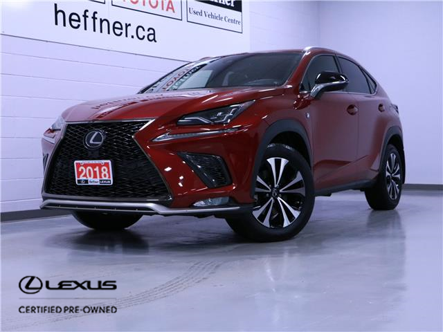 2018 Lexus NX 300 Base (Stk: 207380) in Kitchener - Image 1 of 24