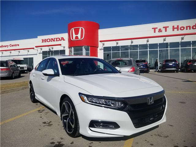 2019 Honda Accord Sport 2.0T (Stk: 2190901) in Calgary - Image 1 of 10