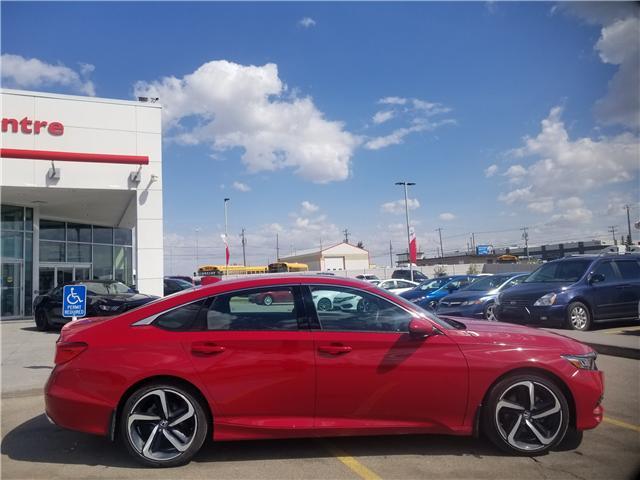 2018 Honda Accord Sport 2.0T (Stk: 2180325D) in Calgary - Image 2 of 30