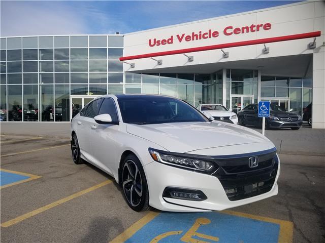 2018 Honda Accord Sport 2.0T (Stk: U194363) in Calgary - Image 1 of 29