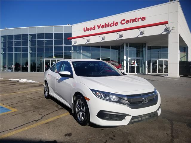 2018 Honda Civic LX (Stk: U194370) in Calgary - Image 1 of 25
