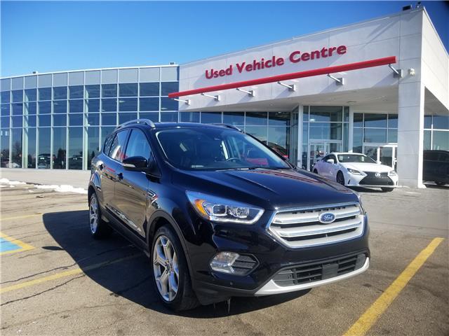 2019 Ford Escape Titanium (Stk: U194360) in Calgary - Image 1 of 29