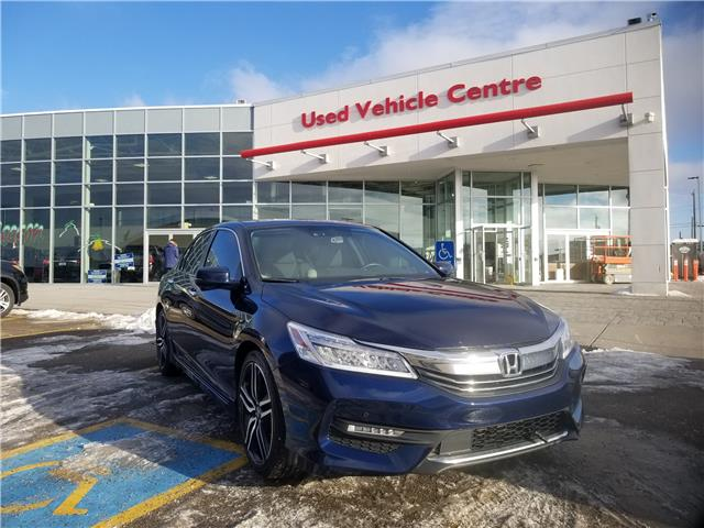 2017 Honda Accord Touring (Stk: 2191133A) in Calgary - Image 1 of 30