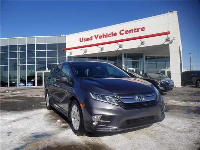 2018 Honda Odyssey EX-L (Stk: 2180019S) in Calgary - Image 1 of 29