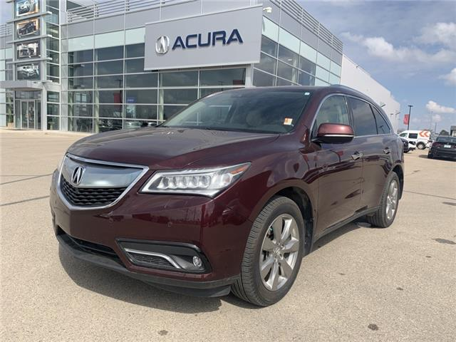 2016 Acura MDX Elite Package (Stk: A4134) in Saskatoon - Image 1 of 28