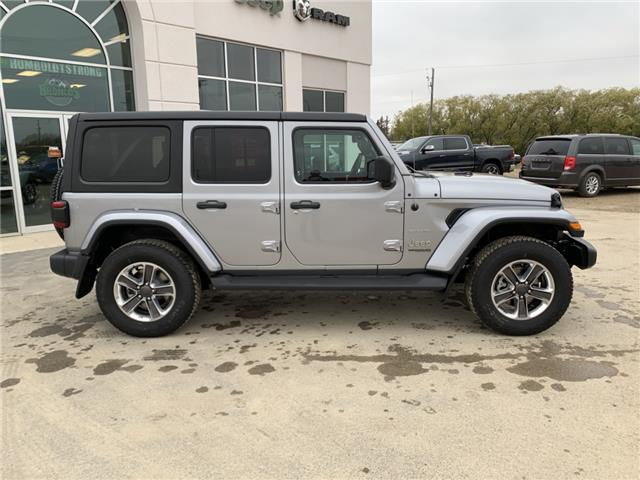 2020 Jeep Wrangler Unlimited Sahara (Stk: 32556) in Humboldt - Image 2 of 23