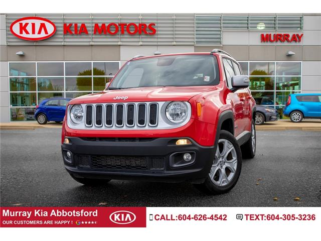 2018 Jeep Renegade Limited (Stk: M1437) in Abbotsford - Image 1 of 22
