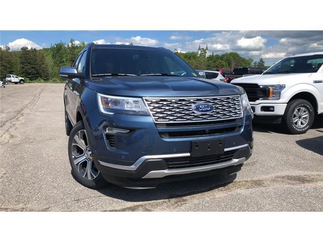 2019 Ford Explorer Platinum (Stk: 19T162) in Midland - Image 1 of 30
