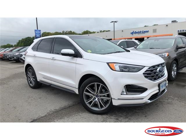 2019 Ford Edge Titanium (Stk: 19T1099) in Midland - Image 1 of 24