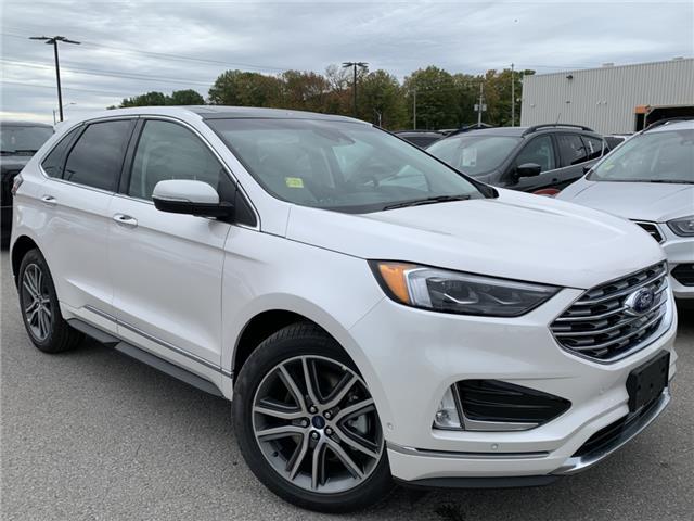 2019 Ford Edge Titanium (Stk: 19T1145) in Midland - Image 1 of 17
