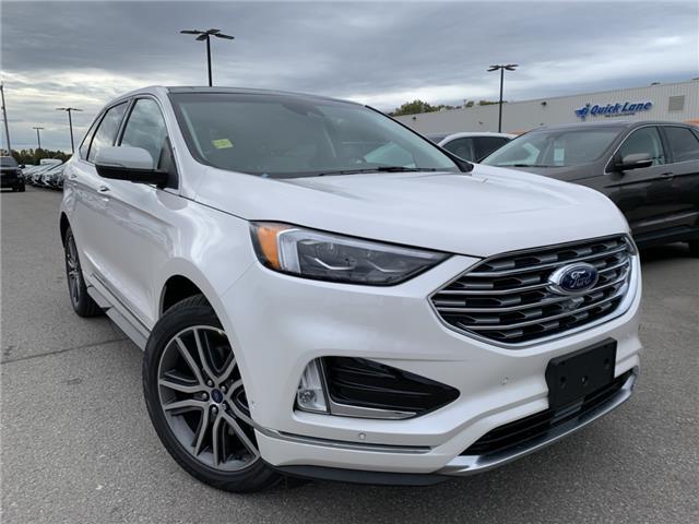 2019 Ford Edge Titanium (Stk: 19T1212) in Midland - Image 1 of 20