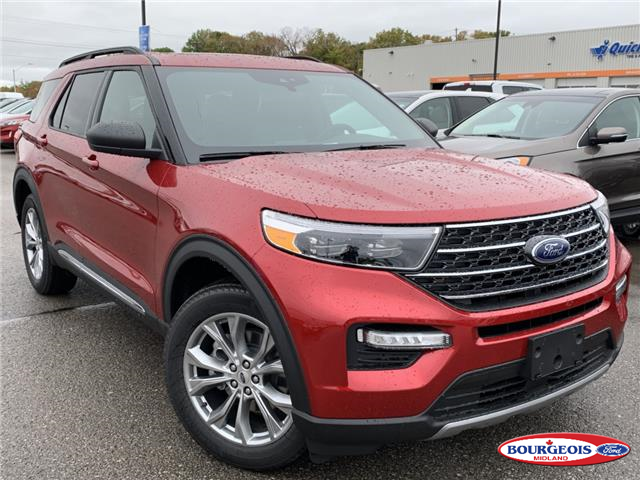 2020 Ford Explorer XLT (Stk: 0020T7) in Midland - Image 1 of 24