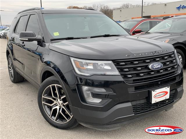 2016 Ford Explorer Sport (Stk: 19T146A) in Midland - Image 1 of 19