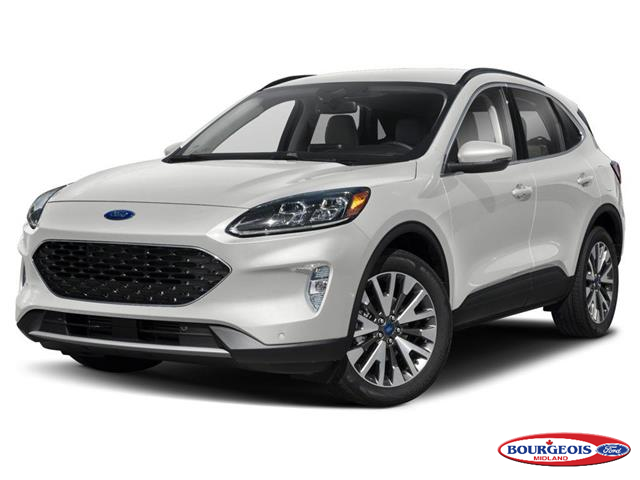 2020 Ford Escape Titanium (Stk: 020T46) in Midland - Image 1 of 9