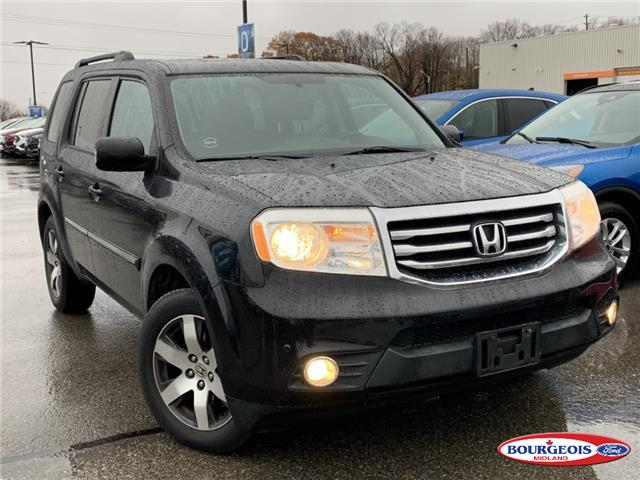 2013 Honda Pilot Touring (Stk: 19T973AA) in Midland - Image 1 of 15