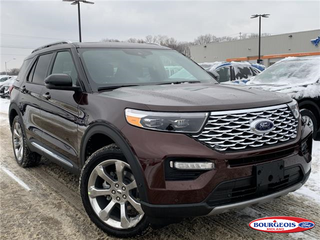 2020 Ford Explorer Platinum (Stk: 020T58) in Midland - Image 1 of 23