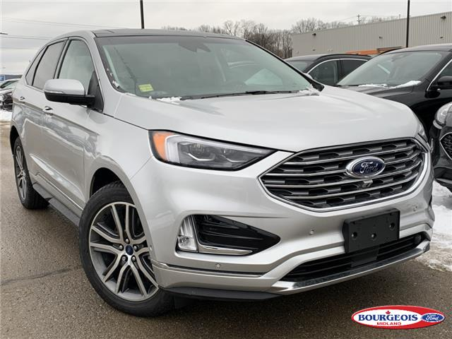 2019 Ford Edge Titanium (Stk: 19T1257) in Midland - Image 1 of 18
