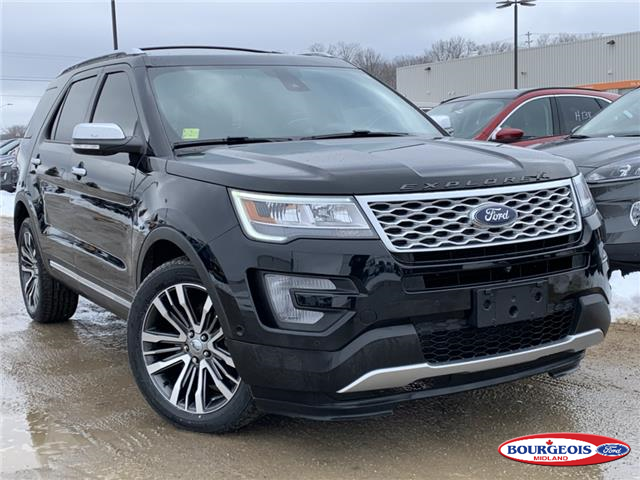 2017 Ford Explorer Platinum (Stk: 0056PT) in Midland - Image 1 of 23