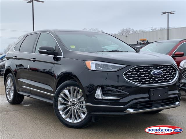 2020 Ford Edge Titanium (Stk: 20T279) in Midland - Image 1 of 17