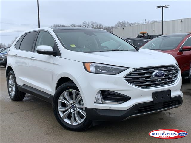 2020 Ford Edge Titanium (Stk: 20T278) in Midland - Image 1 of 19