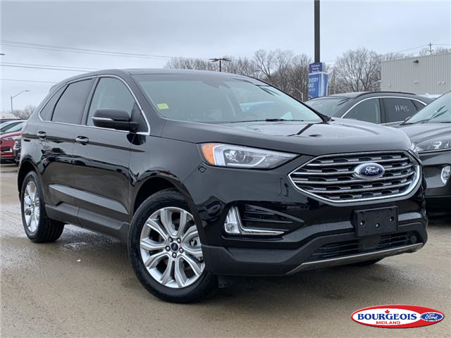 2020 Ford Edge Titanium (Stk: 20T289) in Midland - Image 1 of 19