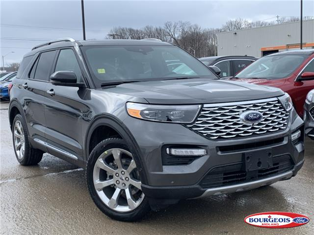 2020 Ford Explorer Platinum (Stk: 20T288) in Midland - Image 1 of 22