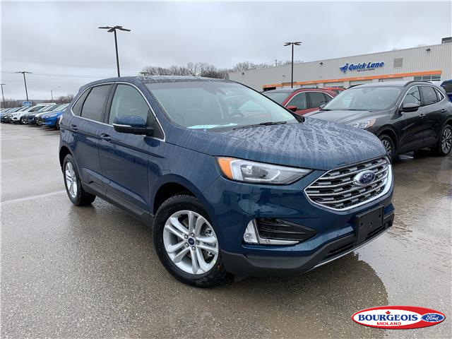 New 2020 Ford Edge SEL  - Midland - Bourgeois Ford