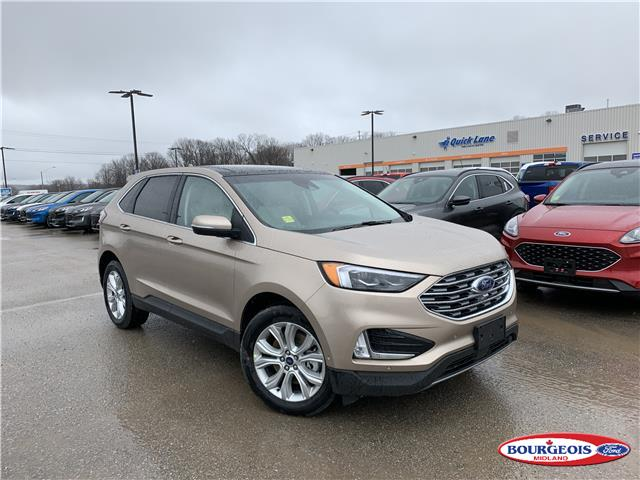 2020 Ford Edge Titanium (Stk: 20T319) in Midland - Image 1 of 2