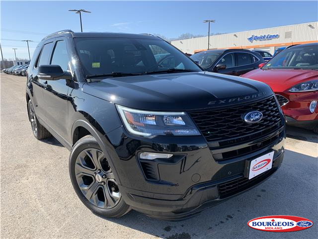 2018 Ford Explorer Sport (Stk: 0053PT) in Midland - Image 1 of 16
