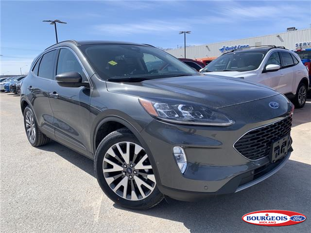 2020 Ford Escape Titanium Hybrid (Stk: 020T99) in Midland - Image 1 of 21