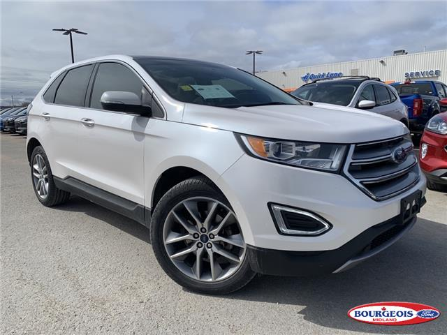 2017 Ford Edge Titanium (Stk: 20T278A) in Midland - Image 1 of 22