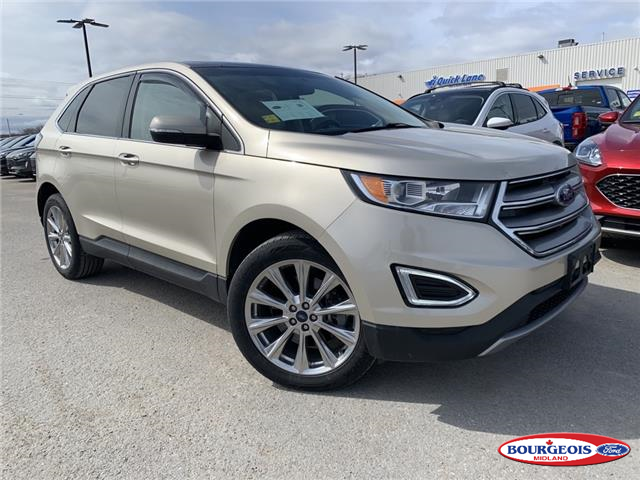 2017 Ford Edge Titanium (Stk: 20T426A) in Midland - Image 1 of 21