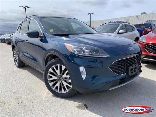 2020 Ford Escape Titanium Hybrid (Stk: 20T250) in Midland - Image 1 of 22