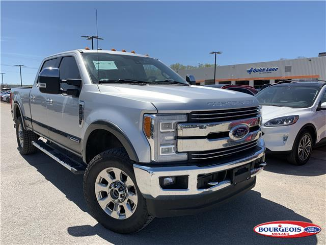 2017 Ford F-250 Lariat (Stk: 0078PT) in Midland - Image 1 of 18