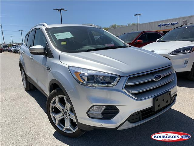 2019 Ford Escape Titanium (Stk: 20T319A) in Midland - Image 1 of 14