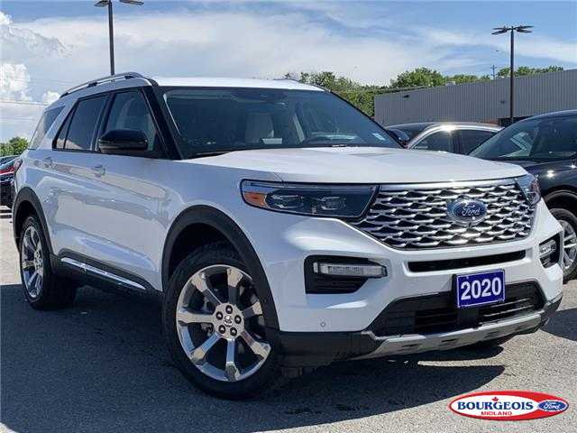 2020 Ford Explorer Platinum (Stk: 20T527) in Midland - Image 1 of 20