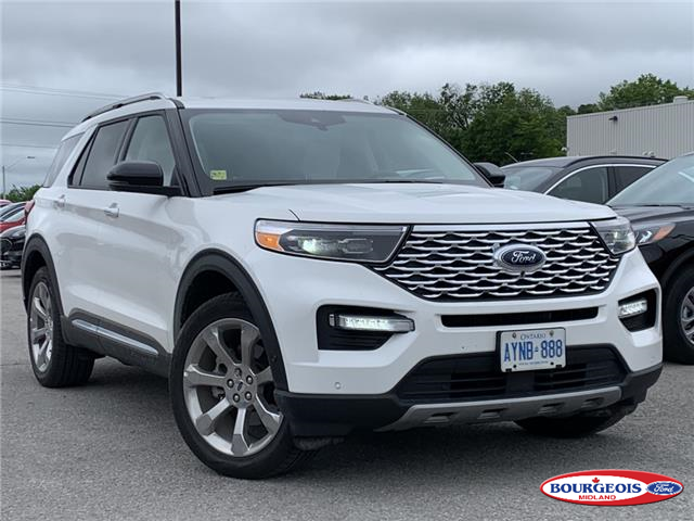 2020 Ford Explorer Platinum (Stk: 20T133) in Midland - Image 1 of 15