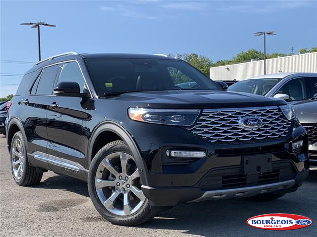 2020 Ford Explorer Platinum (Stk: 20T666) in Midland - Image 1 of 22