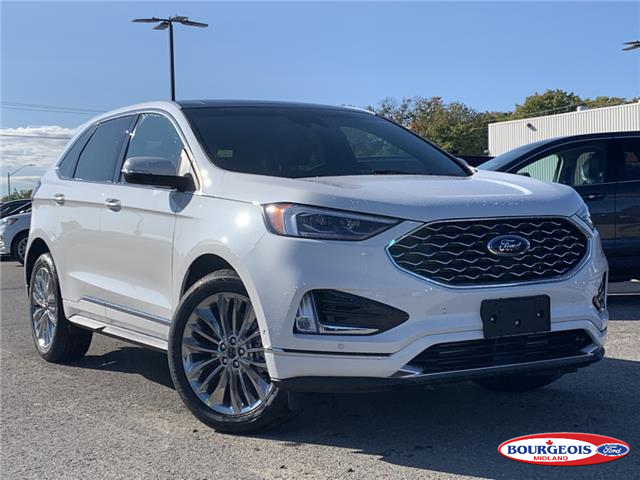 2020 Ford Edge Titanium (Stk: 20T891) in Midland - Image 1 of 16