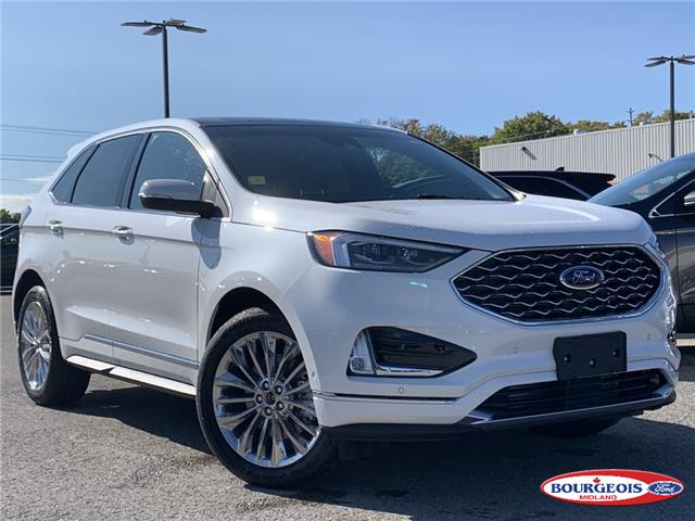 2020 Ford Edge Titanium (Stk: 20T893) in Midland - Image 1 of 18