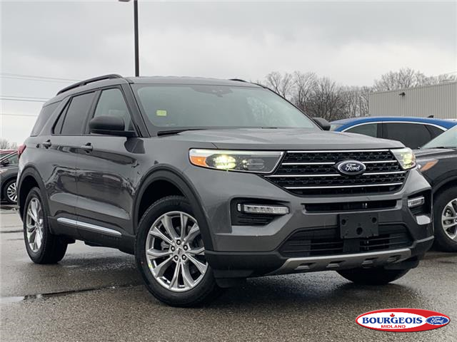 2021 Ford Explorer XLT (Stk: 021T10) in Midland - Image 1 of 16