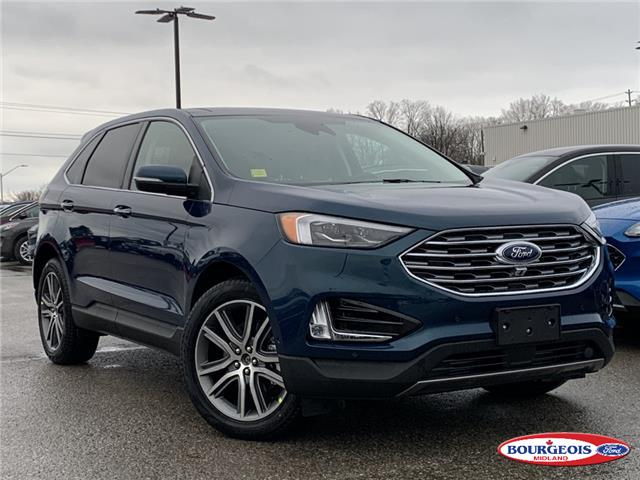 2020 Ford Edge Titanium (Stk: 20T1137) in Midland - Image 1 of 17