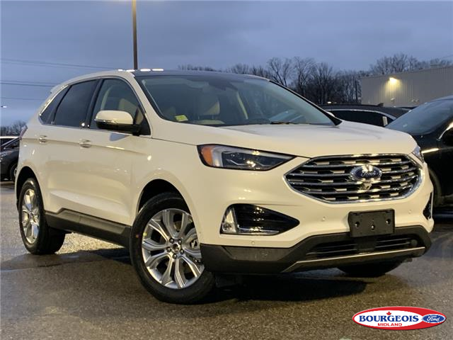 2020 Ford Edge Titanium (Stk: 20T1138) in Midland - Image 1 of 17
