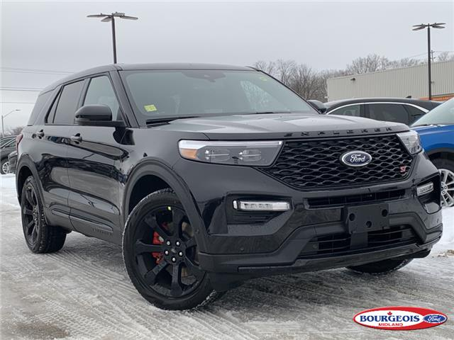 2021 Ford Explorer ST (Stk: 021T47) in Midland - Image 1 of 18
