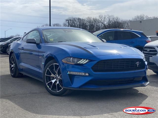 2021 Ford Mustang EcoBoost Premium (Stk: 021MU9) in Midland - Image 1 of 11