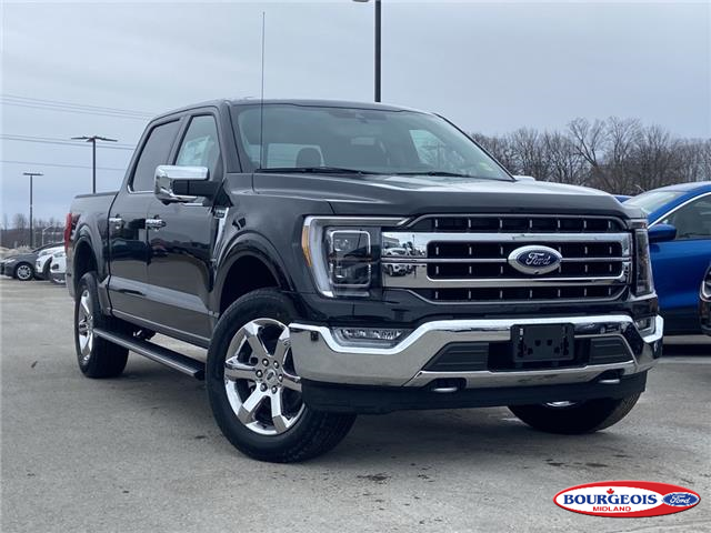 2021 Ford F-150 Lariat (Stk: 21T170) in Midland - Image 1 of 13